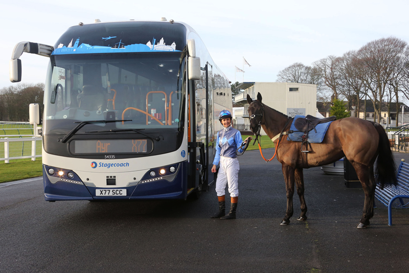 STAGECOACH ON BOARD AS AYR RACE SPONSORS